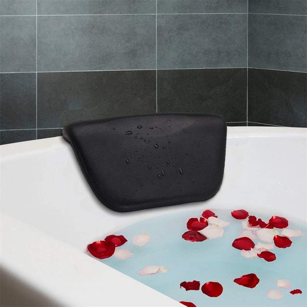 Bathtub Pillow Polyurethane Humanized Bathtub Headrest Bath Pillows with Suction Cups Easy to Clean Bathroom