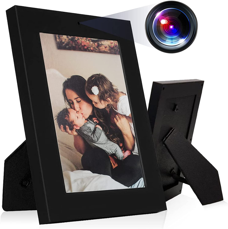 Hidden Camera Photo Frame,HD 960P Mini Hidden Video Camera for Home and Office Wireless Nanny Camera, No WiFi Function