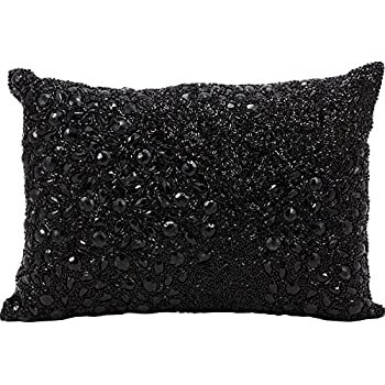 Mina Victory by Nourison E5000 Fully Beaded Decorative Pillow, 10