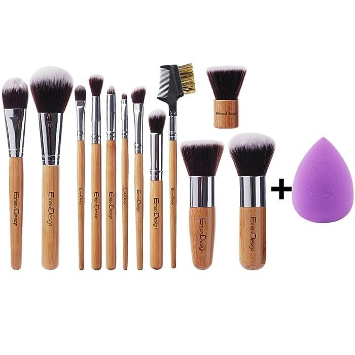 Top 9 Essentials Mini Blender Brush Set