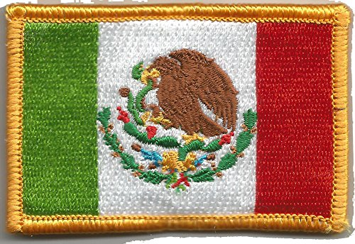 Mexico Flag Tactical Patch - Color -