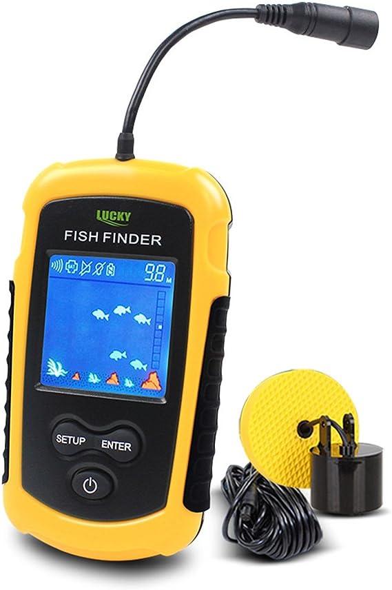 100M Tragbar Echolot Fischfinder Sonar Sensor