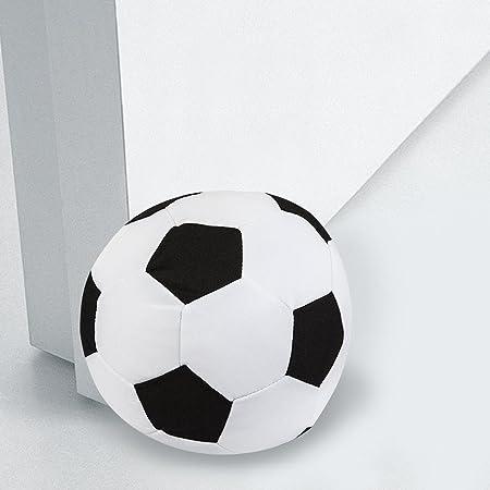 Ducomi tope a suelo de 1,5 kg de forma de pelota de tela con ...