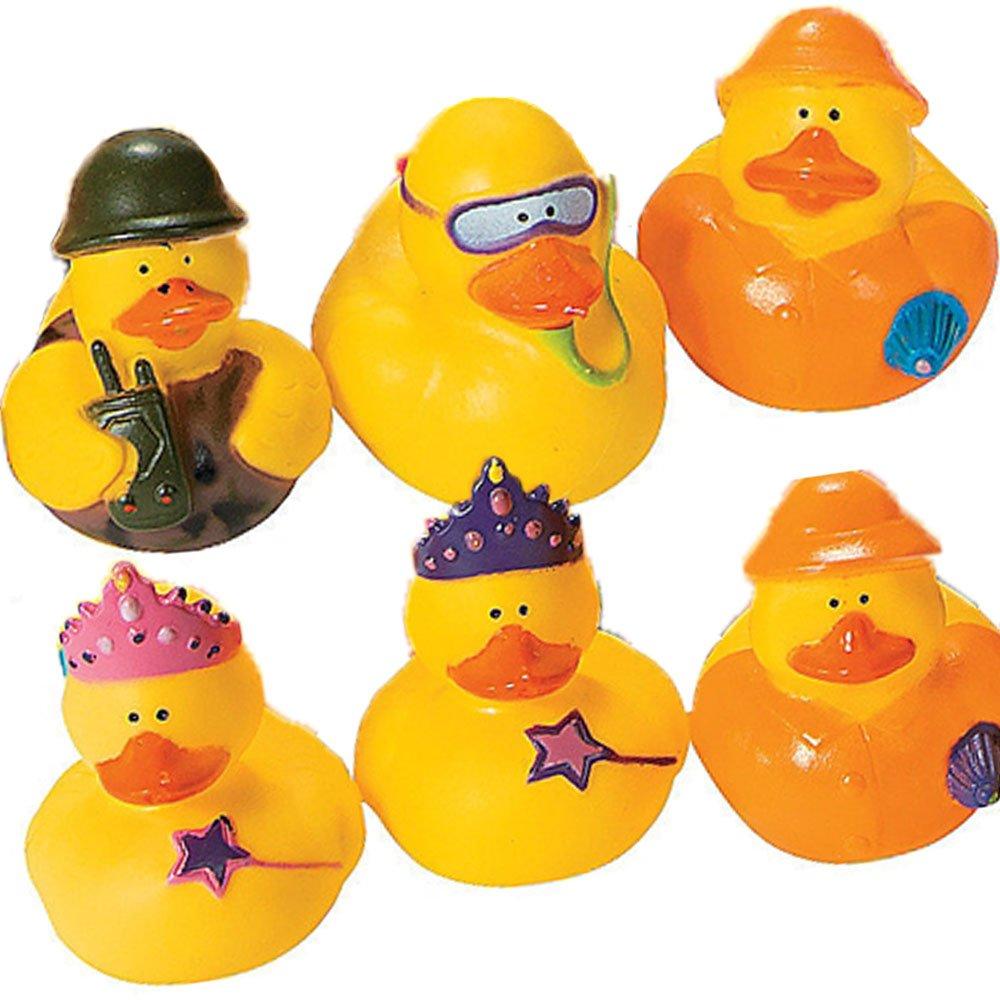 Amazon.com: 20 Assorted Unique Mini Rubber Ducks/Duckies/Holidays ...