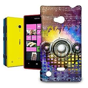 Phone Case For Nokia Lumia 720 - Music DJ Trance Back Hardshell