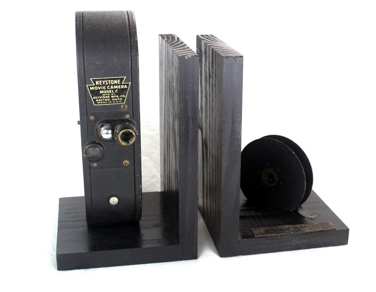 Amazon com: Keystone Model C - Vintage 16mm Camera Bookends