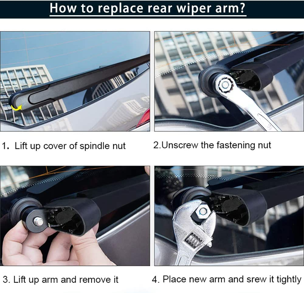 15+15 MIKKUPPA Windshield Wiper Blade for 2007-2018 Jeep Wrangler Pack of 2 Front Original Equipment Replacement Wiper