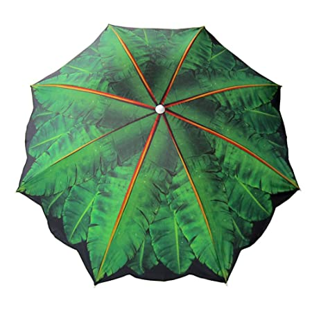 6.5 Banana Leaf Beach Umbrella
