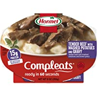 Hormel Compleats Tender Beef with Mashed Potatoes and Gravy