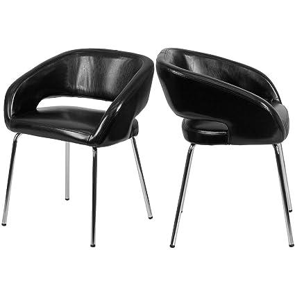 Amazon.com : Contemporary Lounge Chair Ergonomically ...