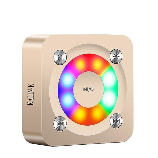 2 opinioni per Altoparlanti Bluetooth senza fili,KALIN-E A9 Portable LED colorato mini