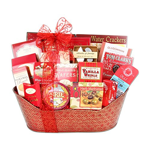 Gourmet Holiday Traditions Gift Basket by The Gift Basket Gallery