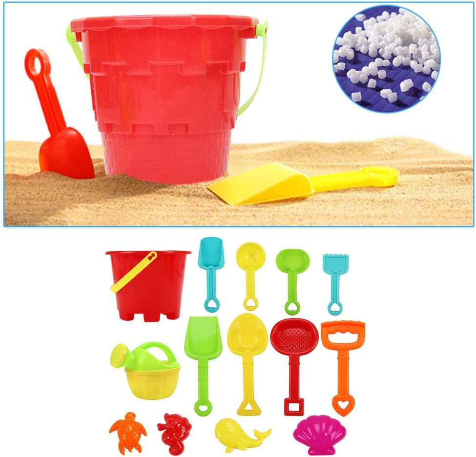 Toyvian Beach Toys Set ni/ños Play Play Sand Tools para ni/ños
