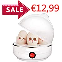 Crenova Eierkocher Abschaltautomatik 7 Eier gleichzeitig - perfektes Weihnachtsgeschenk