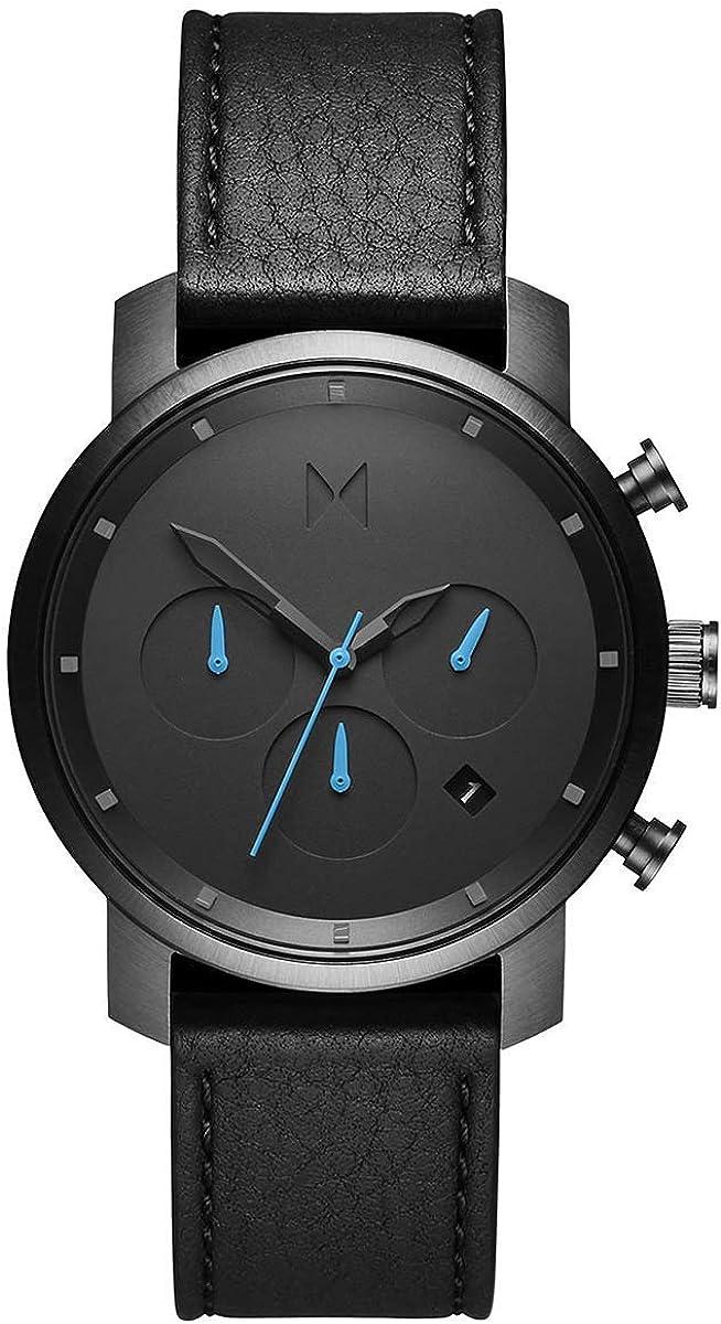 MVMT Chrono Watches | 40 MM Men's Analog Watch Chronograph | Link Wristband