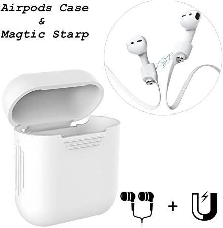 Airpods casque Skin & Starp, Coscod magnétique Airpods
