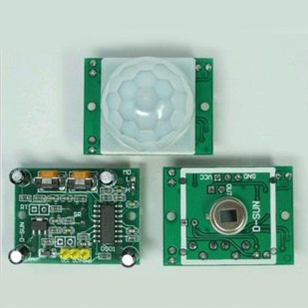 Morza HC-SR501 Petit capteur PIR Module Pyroelectric Corps Infrarouge détecteur de Mouvement