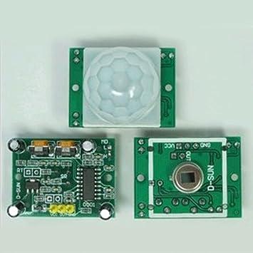 Módulo piroeléctrico detector de sensor de movimiento por infrarrojos Pyroelectric Body Pyroelectric Body módulo
