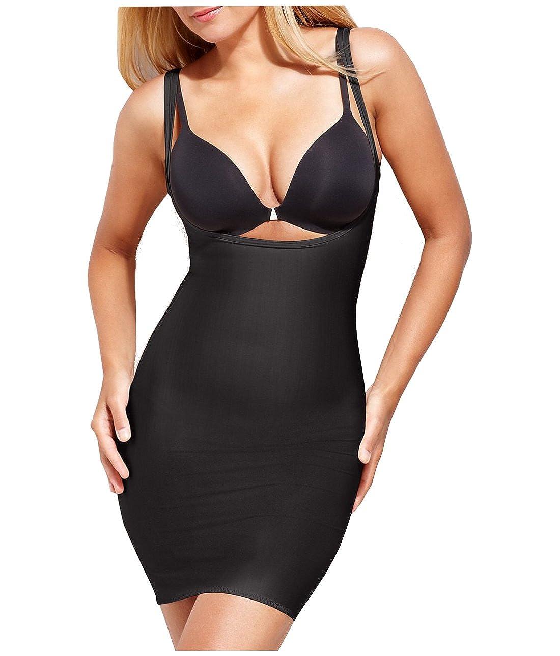 womens underbust control tummy shapewear black skintone 10-12 14-16 18-20 18-20, black
