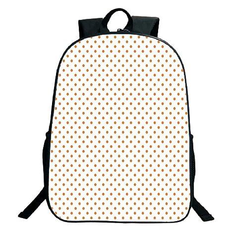 b026fa89036d Amazon.com: 3D Print Design Black School Bag,backpacksOrange,Little ...