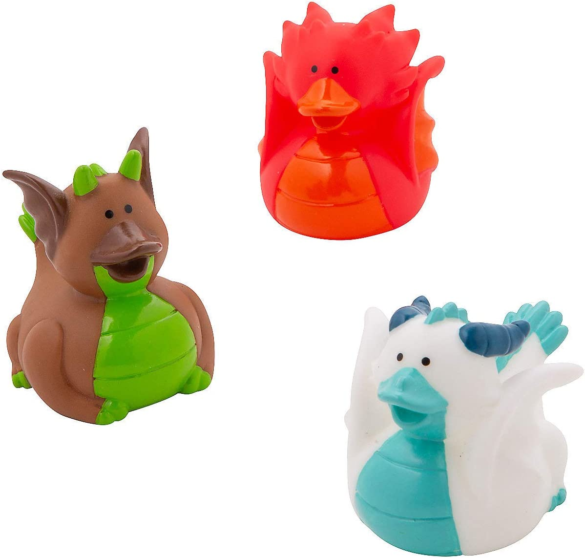 Set of 12 Ducks Fun Express Camping and Scout Rubber Duckies
