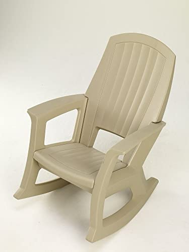 Reviewed: Semco Plastics SEMS Extra Large Recycled Plastic Resin Durable Outdoor Patio Rocking Chair