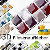 Grandora w5288 Mosaico adesivo per piastrle effetto 3d-effekt grande scelta Adesivo da muro cucina bagno decorazione piastrelle Pellicola AUTOADESIVO - COME SELEZIONATO, Design 2