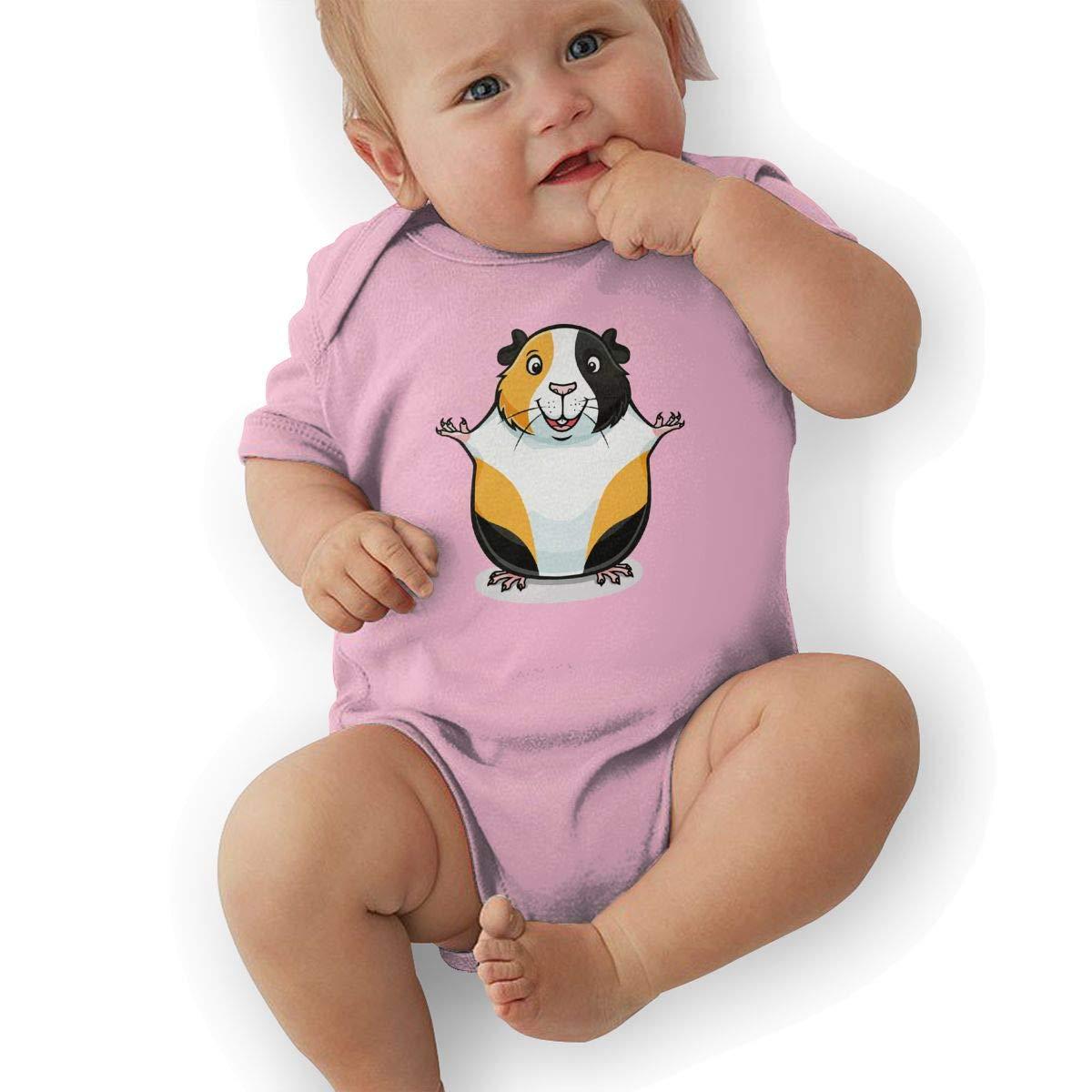 Guinea Pig Toddler Baby Girl Boy Romper Jumpsuit Short Sleeved Bodysuit Tops Clothes