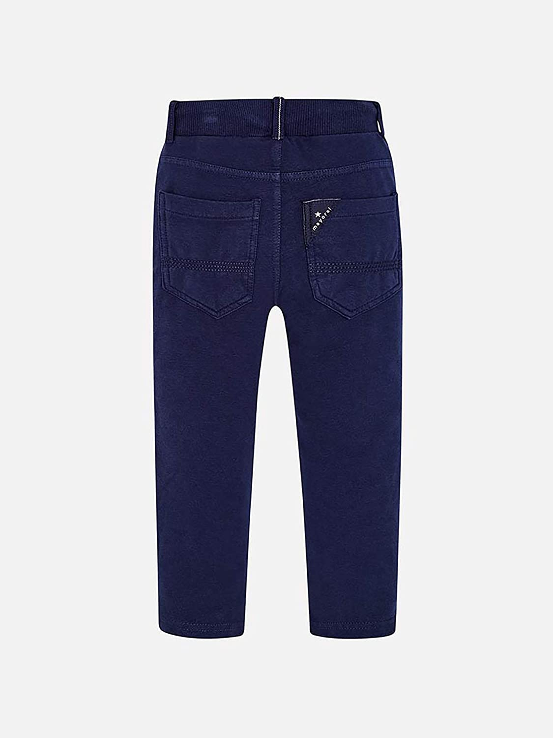 Navy 3526 Mayoral Chenille Pants for Boys