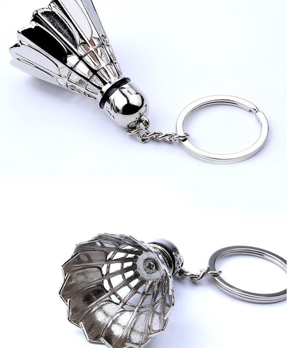 Lumanuby 1x Collier et Trousseau sac porte cl/é Style de badminton Multifonctions Key Ring Pendentif sac /à dos Keychain voiture Cadeau de No/ël