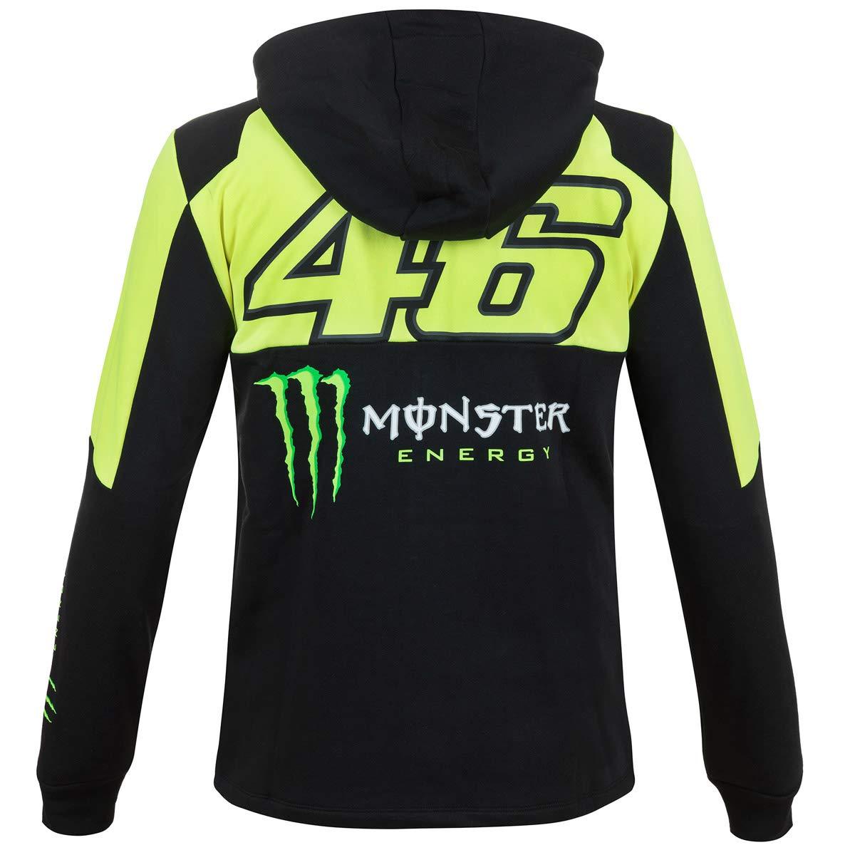 Valentino Rossi VR46 de Zip Hoodie - Chaqueta con Capucha Chaqueta Sudadera Fan Artículo Casco Helmet Amarillo + fanergy Energy Drink: Amazon.es: Deportes y ...