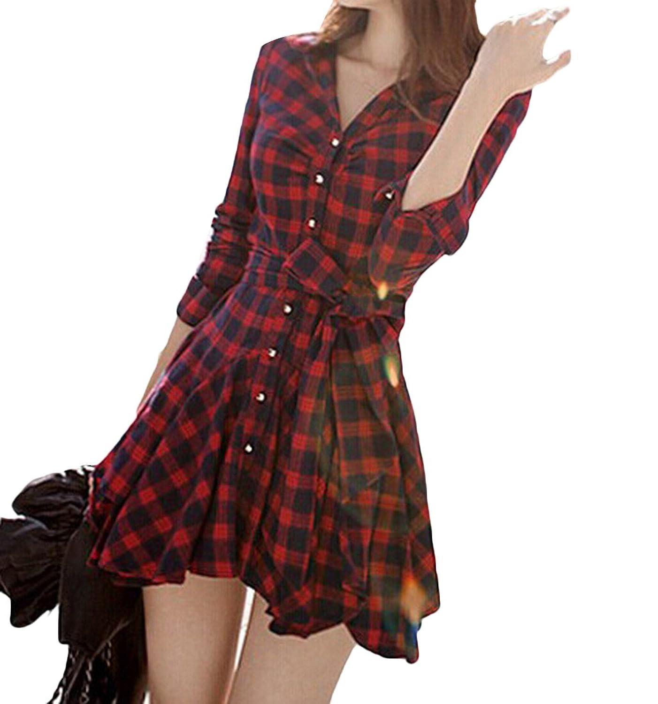 Sheng Xi Women's Outwear Lattice Slim Fit V-Neck Basic Corset Bodice