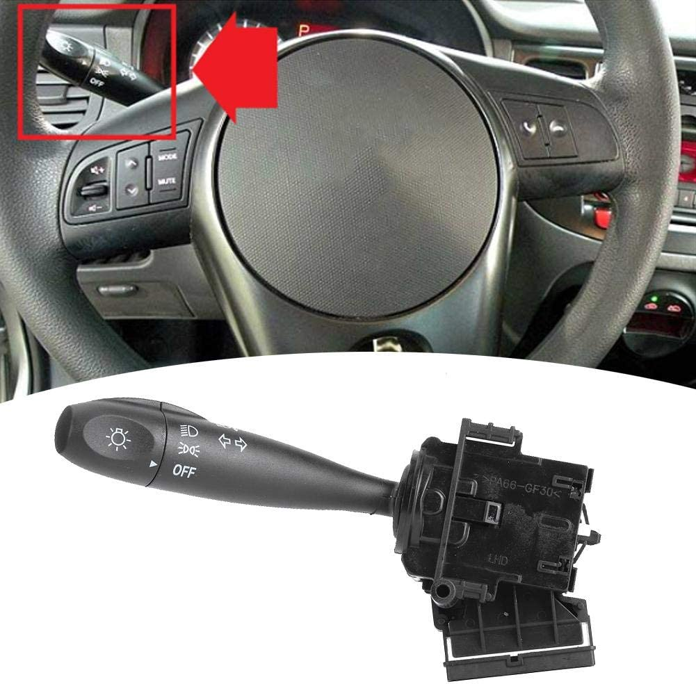 Turn Signal Switch Lever Headlight Turn Signal Switch Assemble OE#93410-1G000 Replacement fit for Hyundai Accent