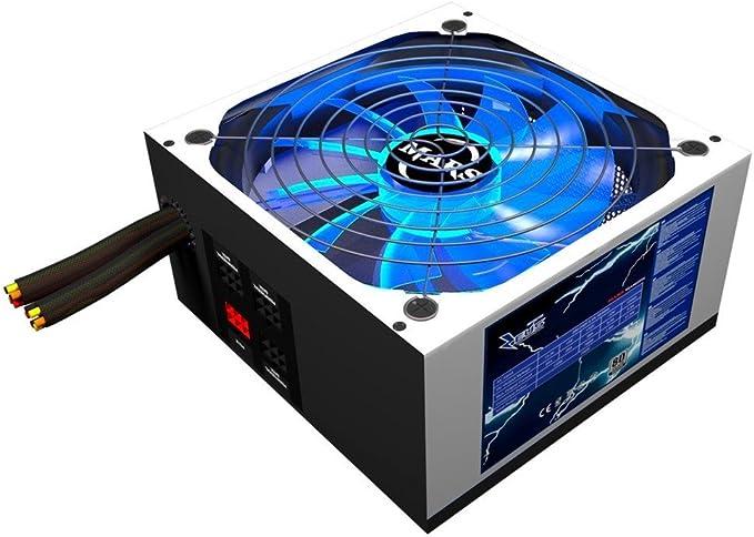 Mars Gaming MPZE750 - Fuente de alimentación gaming para PC (750 W ...
