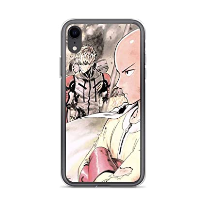 One Punch Man Anime Saitama and Genos iphone case