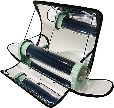 SEAAN Cocina Solar integrada al Aire Libre Cocina Solar parabólica portátil con Mayor eficiencia Temperatura máxima: 550 ° F (288 ° C) Cocina Solar al ...