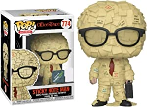 Funko Pop Office Space Sticky Note Man SDCC 2019 Shared Thinkgeek Sticker Exclusive Vinyl Figure Bundled with Pop Protector