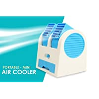 Webelkart Portable Usb Fragrance Dual Bladeless Air Conditioner Cooling Fan - Assorted Color