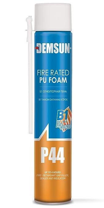2 x fuego nominal espuma expansiva no encoje. Molde y resistente al agua 1000 ml demsun: Amazon.es: Bricolaje y herramientas