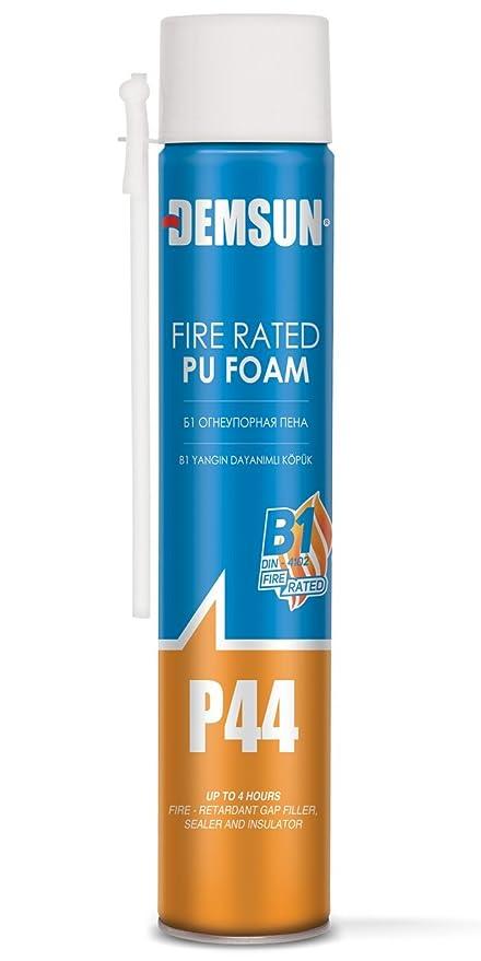 demsun caja de 12, resistentes al fuego espuma expansiva no encoje. Molde y resistente