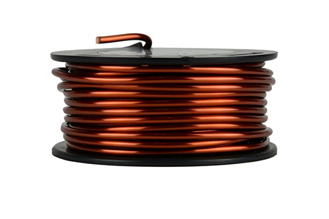 Amazon temco 8 awg copper magnet wire 1 lb 20 ft 200c amazon temco 8 awg copper magnet wire 1 lb 20 ft 200c magnetic coil winding home improvement keyboard keysfo Choice Image