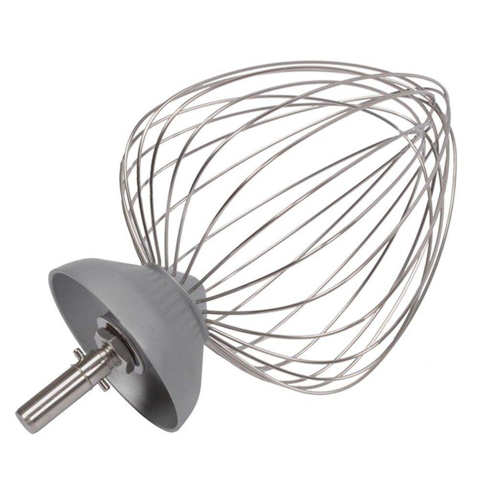 per KM040,/KM631,/KM840/ a forma di pallone frusta originale a filo grosso Kenwood 12/fili, in alluminio