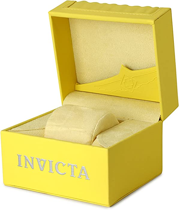 Invicta Men 12846 quotSpecialtyquot Stainless Steel Watch with Black Band