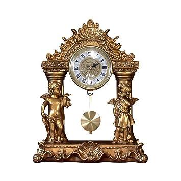 Relojes de Chimenea Familiares Reloj de Mesa Europeo Romano del ...