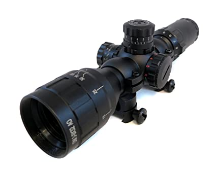 New Tactical Sinper Choose Scope 2-7x32 RGB Illuminated Lock Reset Scope
