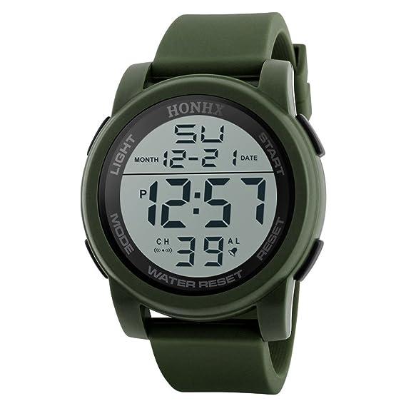 Relojes Deportivos,Reloj Deportivo Digital Analógico Militar LED ...