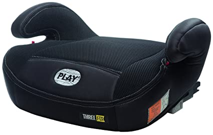 Play Three Fix, Silla de coche grupo 2/3 Isofix, negro