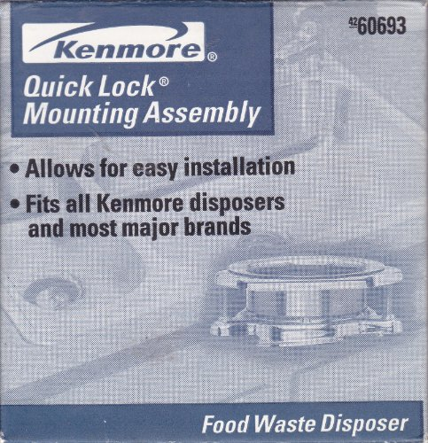 Kenmore Disposer QuickLock Mount Assembly