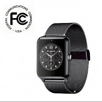 Fitness Tracker Teléfono reloj Smartwatch con lector/TF ...