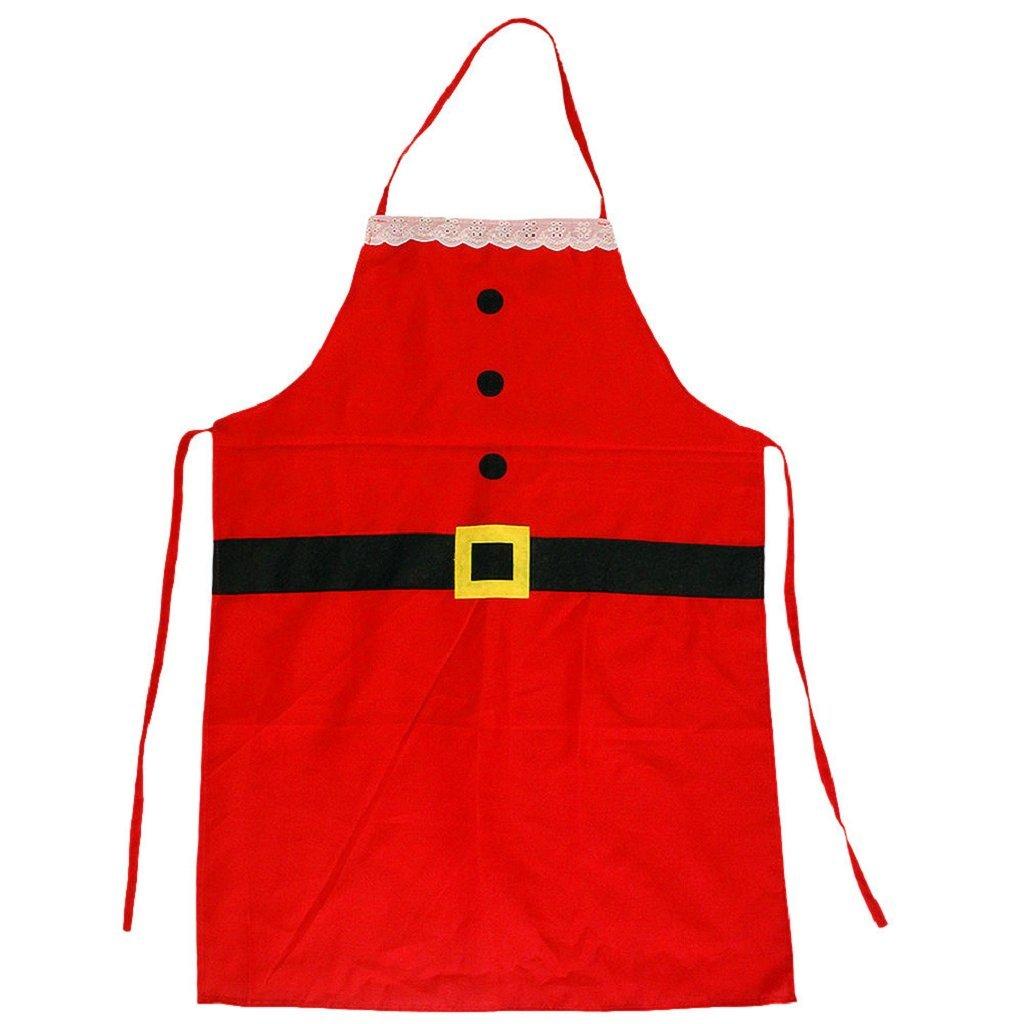 Amazon.com: Delantal de Navidad, beautyvan Rojo Creative ...
